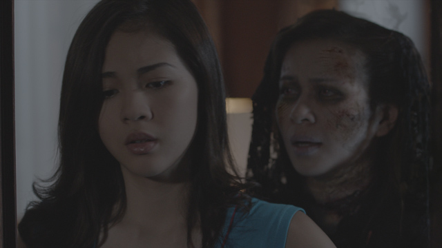 Janella Salvador and Lj Reyes in Haunted Mansion