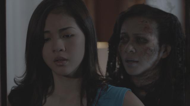 Janella Salvador and Lj Reyes in Haunted Mansion