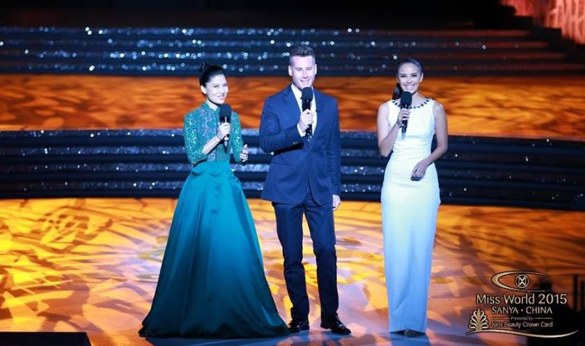 Miss World Megan Young hosting