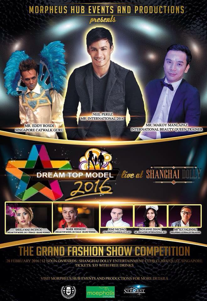 Dream Top Model - 2016 judges
