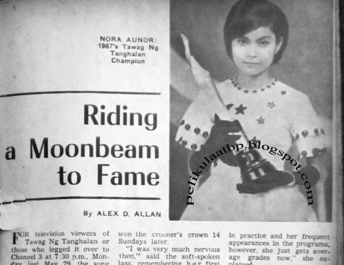 Nora Aunor (Riding a Moonbeam to Fame, June 17, 1967) - Tawag ng Tanghalan