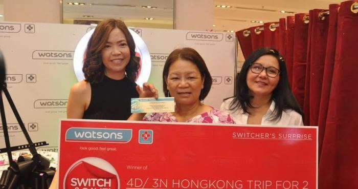 Switching to Watsons helps shoppers save for otherthings