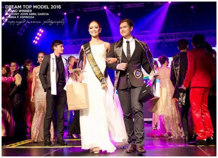 Dream Top Model winners - photos walk