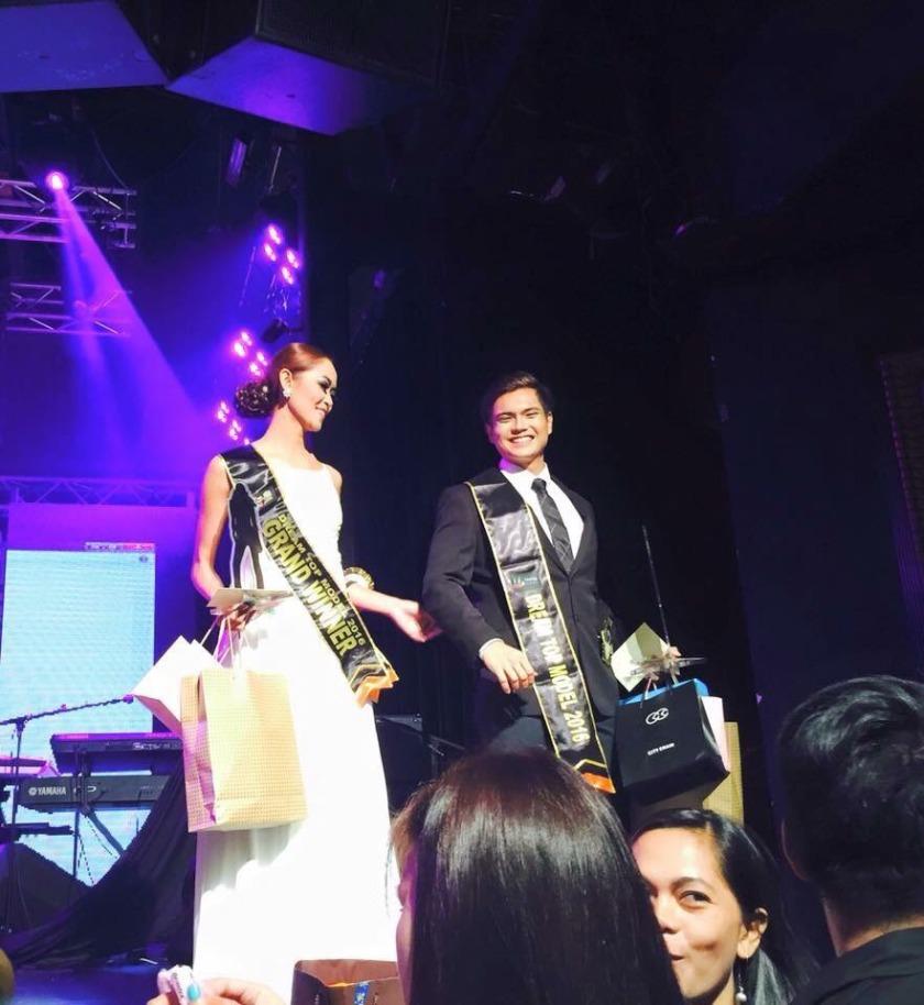 Dream Top Model Winners JaninaEspinosa and Anthony John Garcia