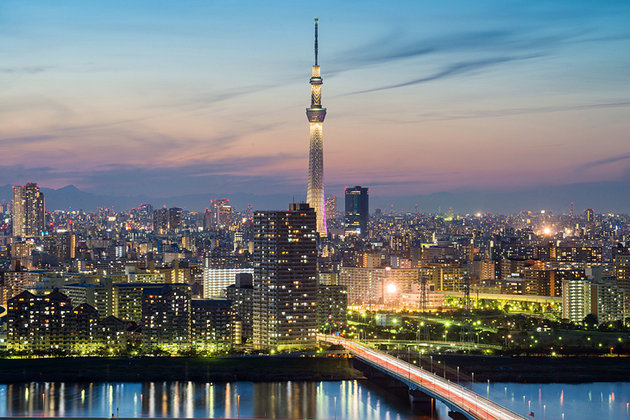The Tokyo Skytree