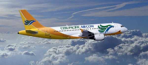 cebu pacific above the clouds