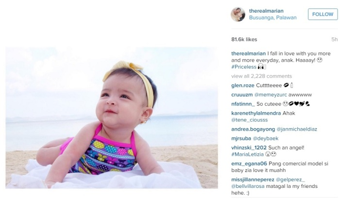 Marian Rivera and Dingdong Dantes' Daughter