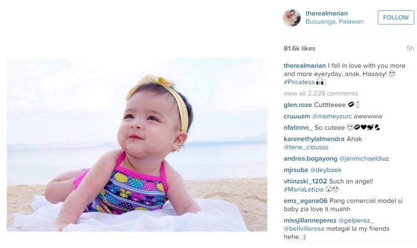Marian Rivera and Dingdong Dantes' Daughter