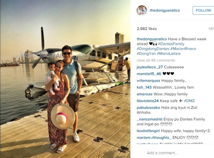 Marian Rivera and Dingdong Dantes in Palawan