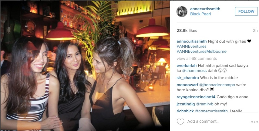 Anne Curtis and Isabelle Daza