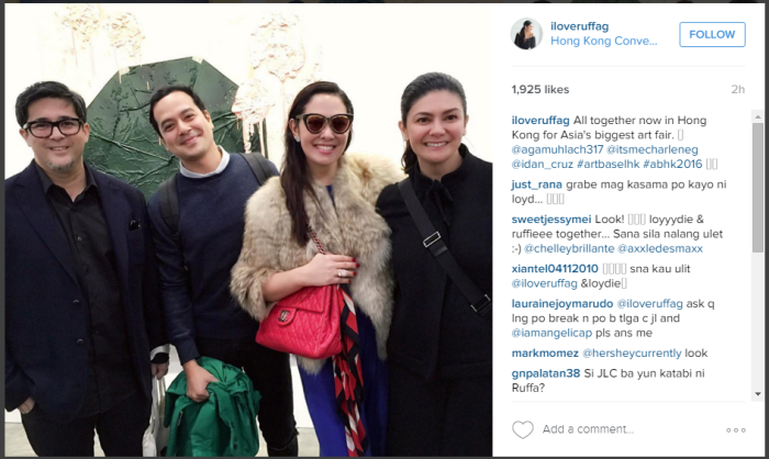 John Lloyd and Ruffa Together in HK