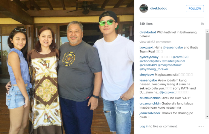 KathNiel in Balesin