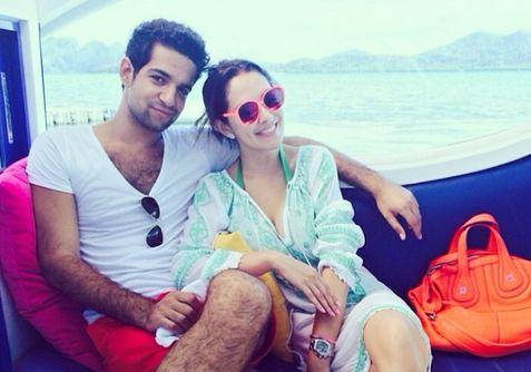 Ruffa Gutierrez and Israeli boyfriend Jordan Mouyal.