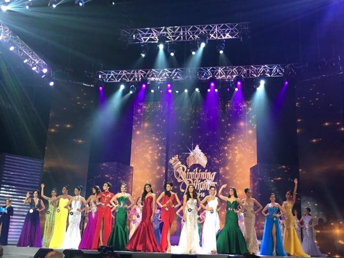 Binibining Pilipinas 2016 Top 15