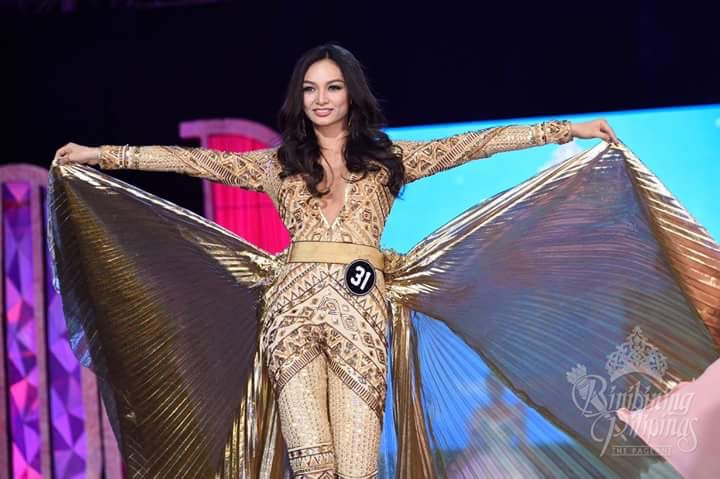 Kylie Verzosa in National Costume by Rajo Laurel