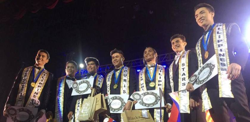 Mister Philippines 2016 winners