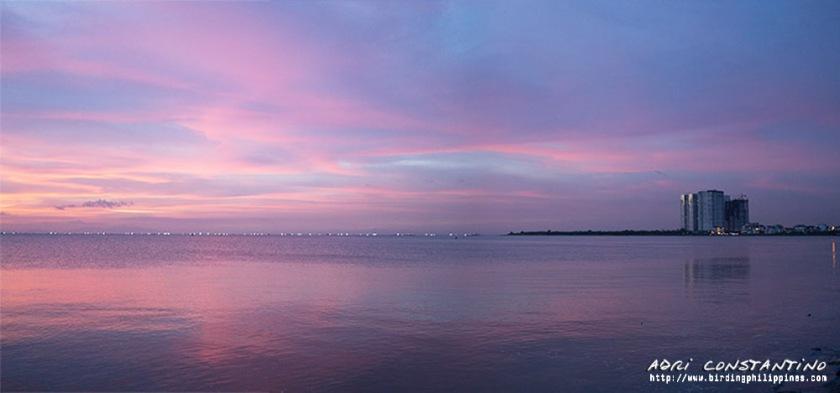 Sunset in Manila captured by Adri Constantino