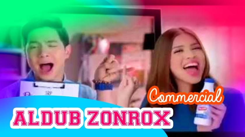 Aldub TV Commercial - Zonrox
