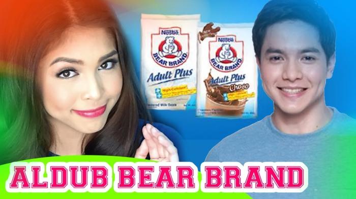 Aldub TV Commercial - Bear Brand Adult Plus