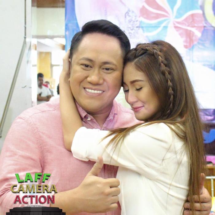 Hosts Betong and Katrina Halili for Laff Camera Action