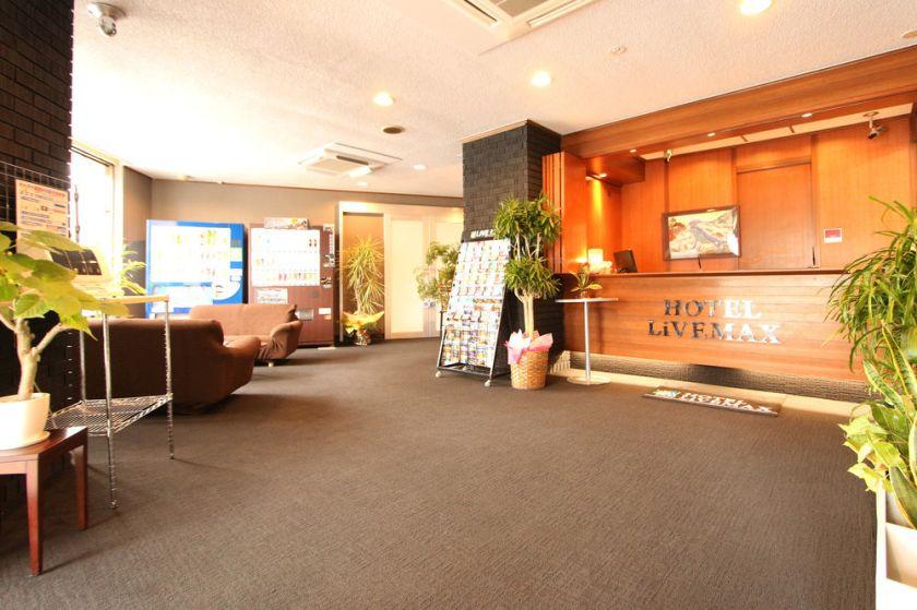 Hotel Livemax Naha Tomariko Okinawa Japan Lobby