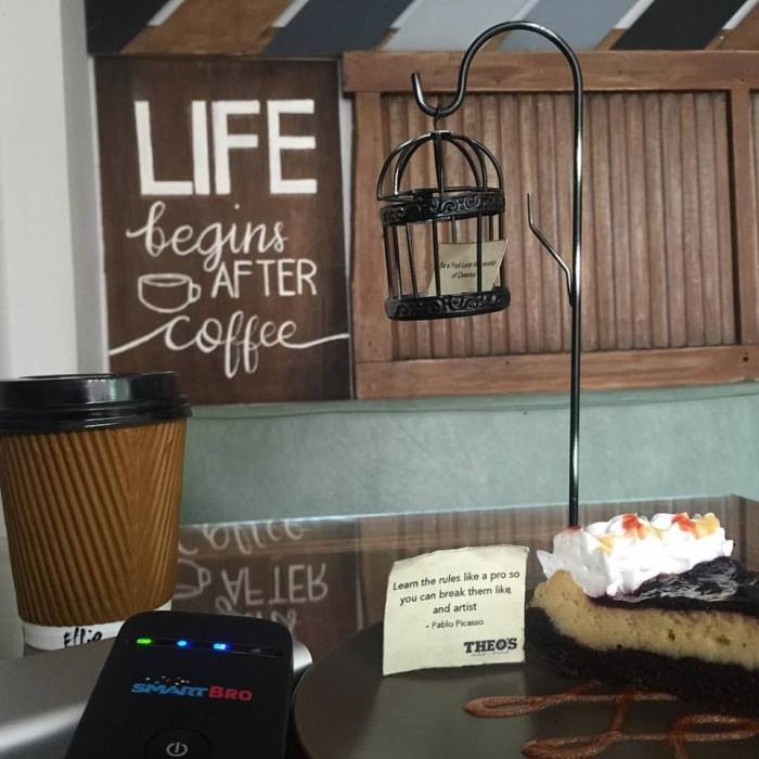 Smart Bro and coffee