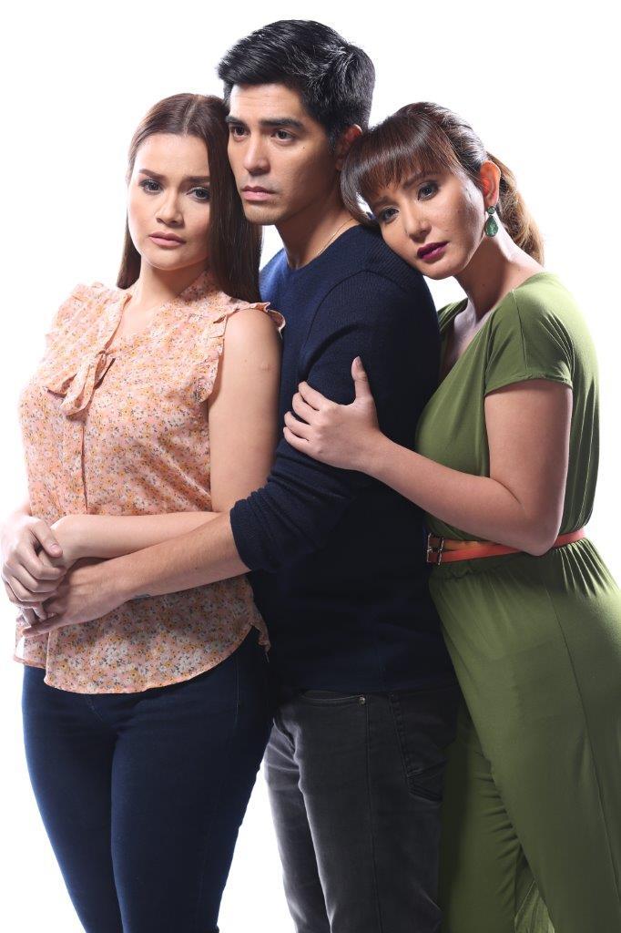 Mark Herras, Yasmien Kurdi and Katrina Halili