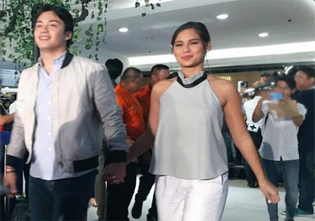 Imagine You and Me premiere Jasmine Curtis Smith and boyfriend