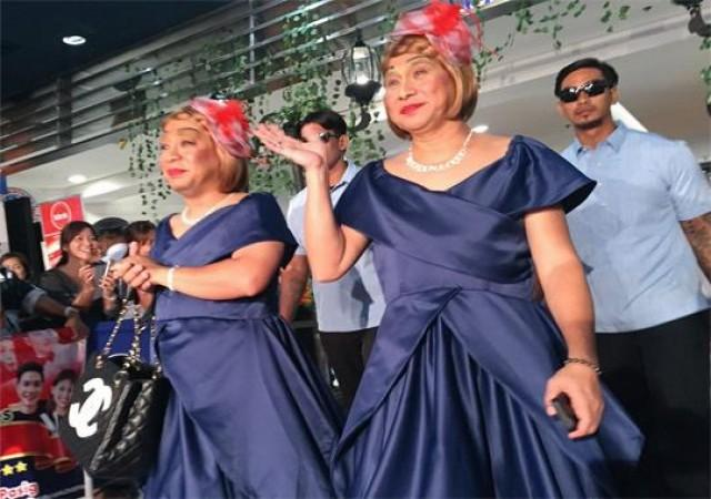 Imagine You and Me premiere Lola Nidora and Lola Tidora of Kalye Serye