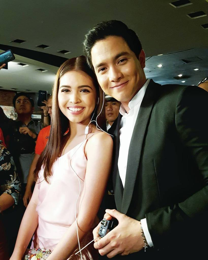Alden Richards and Maine Mendoza - Premiere Night Imagine You and Me