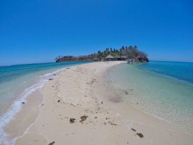Sandbar in Asilom Island, Bulalacao, Oriental Mindoro