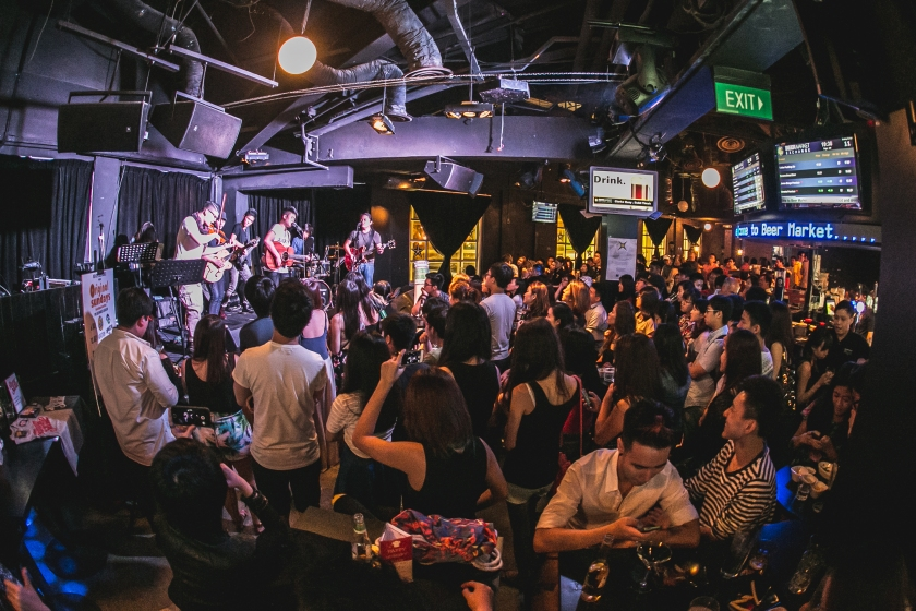 Beer Market Live Music Singapore