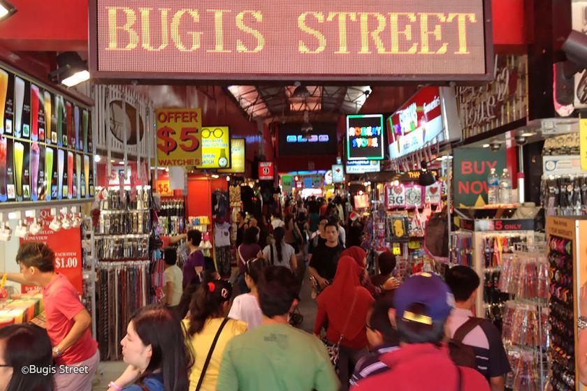 Bugist Street Market Singapore