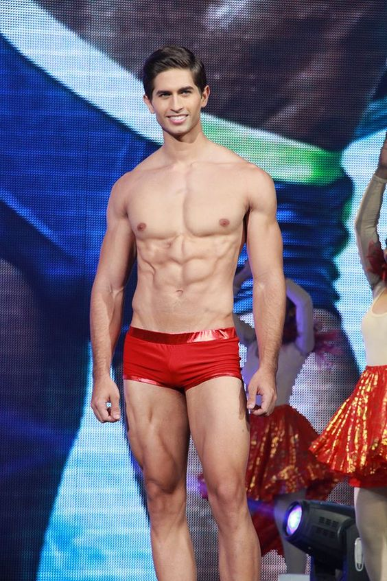 Fernando Alvarez of Puerto in Swimwear