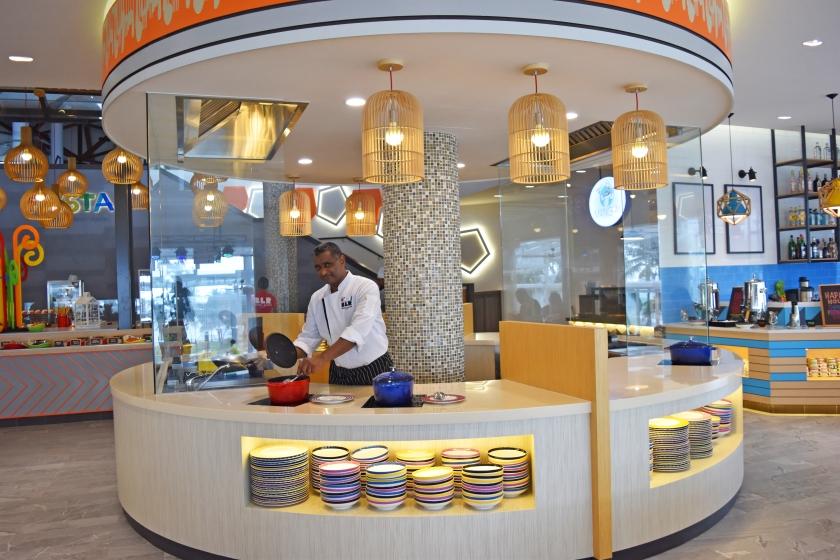 Bintan Lagoon Resort - Fiesta Restaurant Front