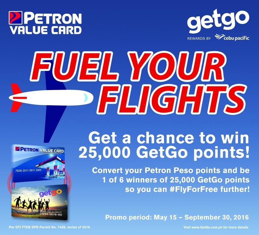 Petro and GetGo Cebu Pacific Raffle Promo