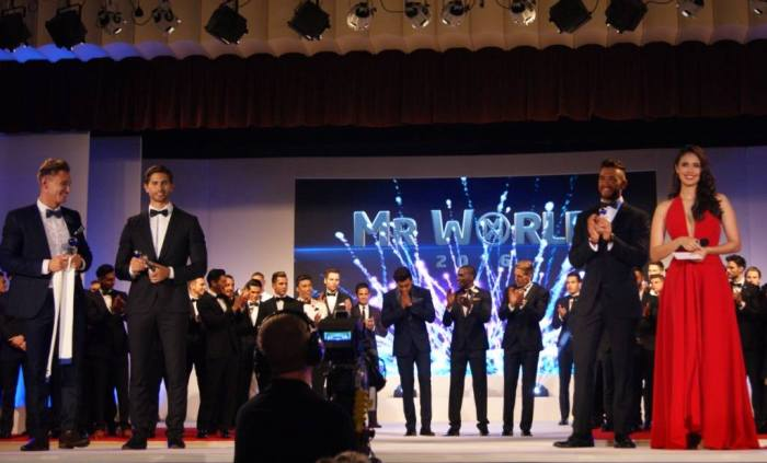 Mister World 2016 Final Results Photo