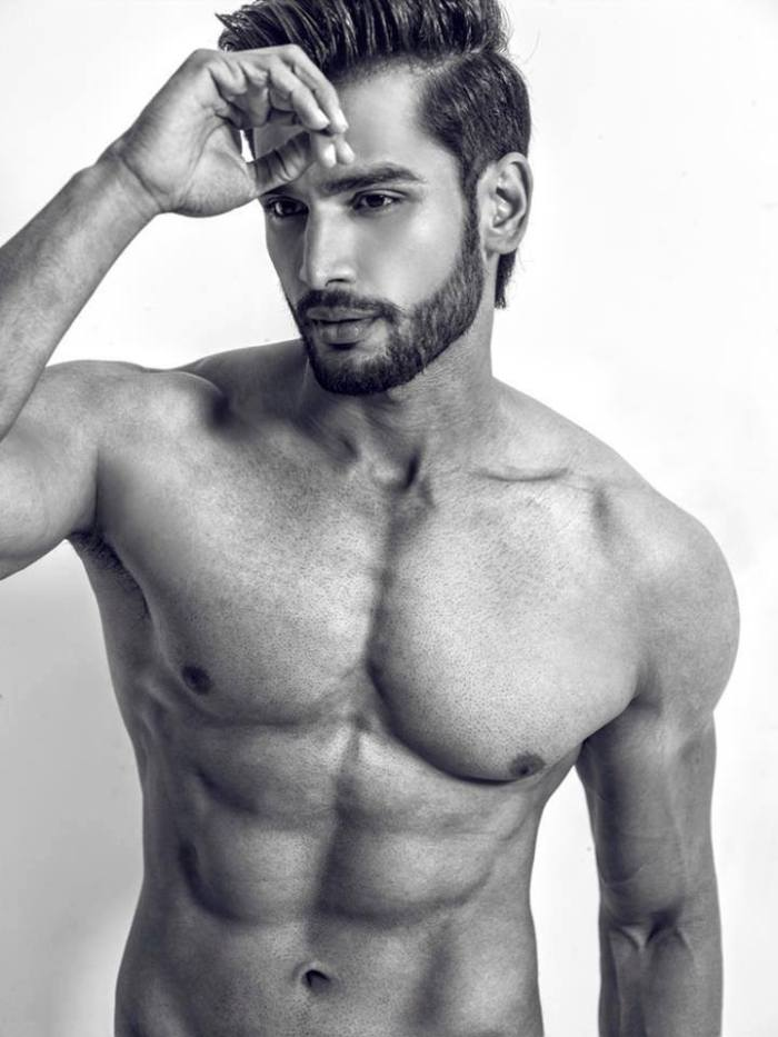 Mister World 2016 India's Rohit Khandelwal in a sexy photo