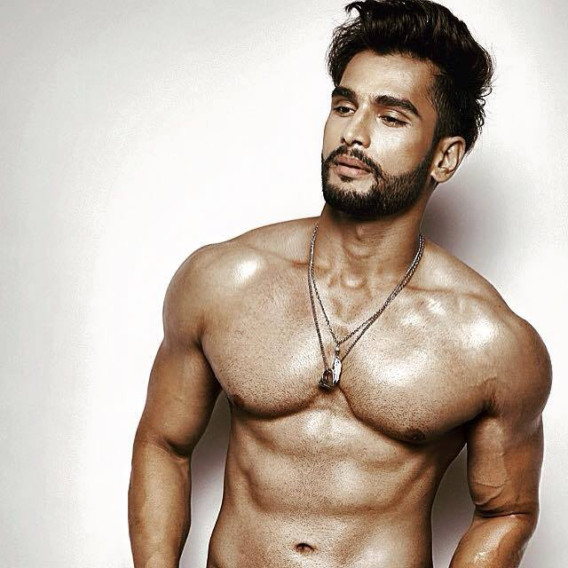 Mister World 2016 India's Rohit Khandelwal photo shows some abs