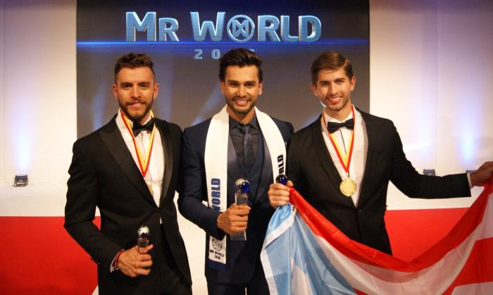 Mister World 2016 winner is India's RohitKhandelwal