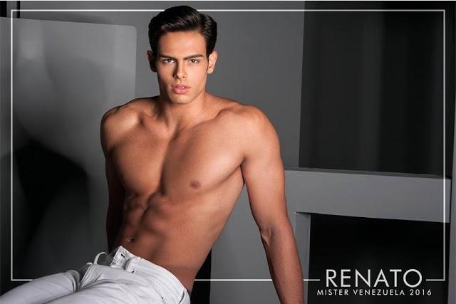 Mister World 2016 Venezuela Renato Barabino