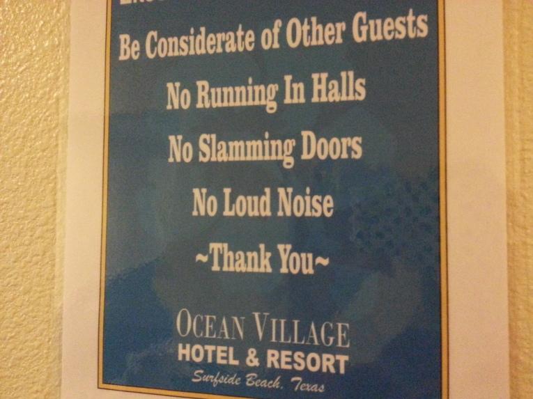 Follow Accommodation Rules - Travel