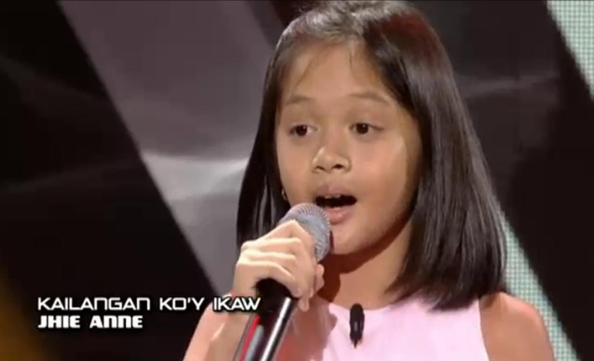 Jhie Anne Ginoo - The Voice Kids Philippines 2016