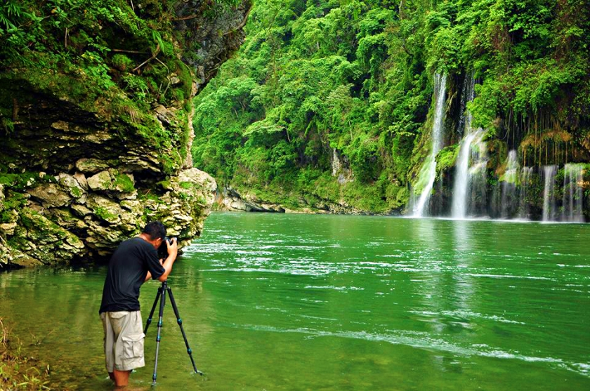 Barusibis Waterfalls in the province of Abra