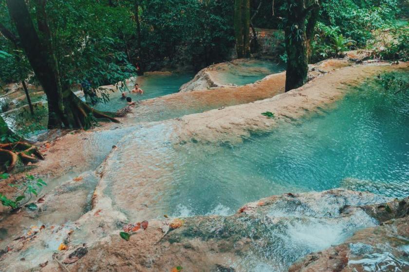 Mulawin Waterfalls found in Abra, Philippines