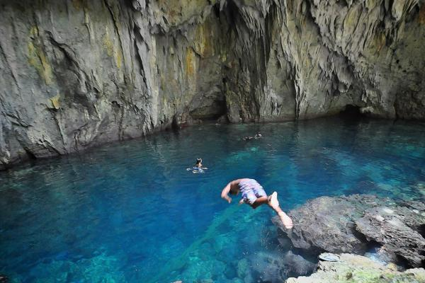 Calicoan Island Waterfalls Photo