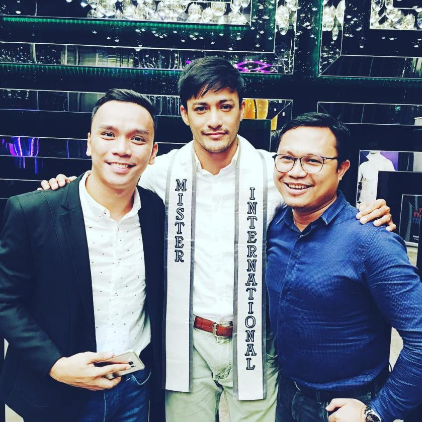 Misters of Pilipinas 2016 with Niel Perez and Makoy Manlapaz