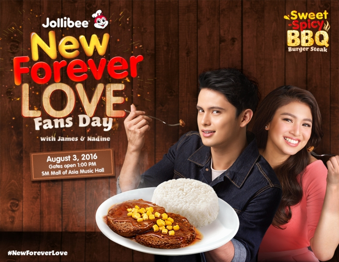Jollibee invites you to celebrate 'New Forever Love' withJaDine