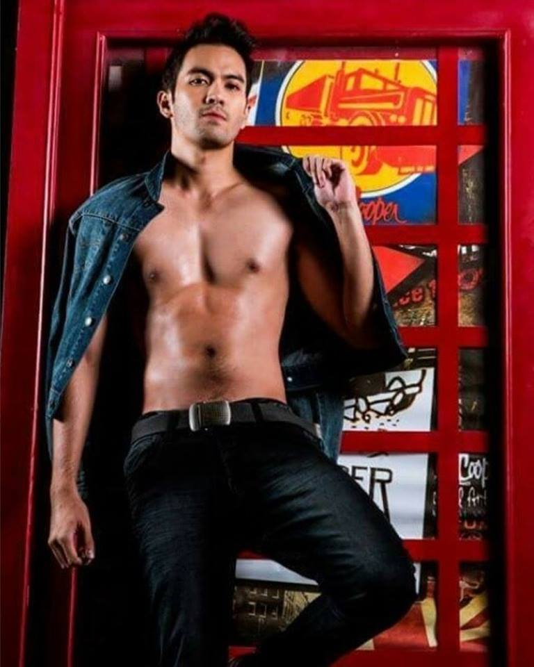 Miguel Guia - Mister International Philippines 2016 winner