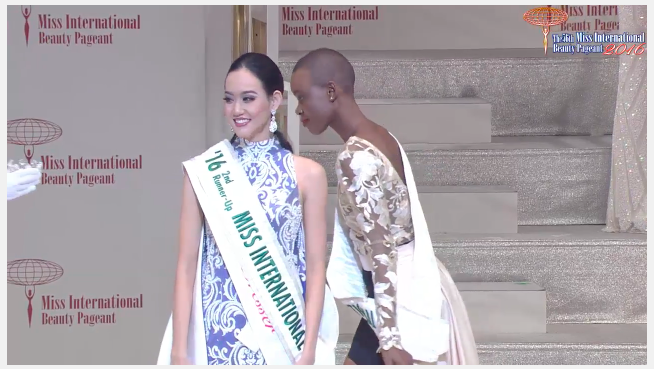 Second Runner-Up is Indonesia